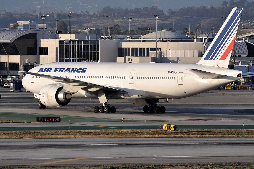 Air France Boeing 777 228ER F GSPJ at Los Angeles International Airport LAX