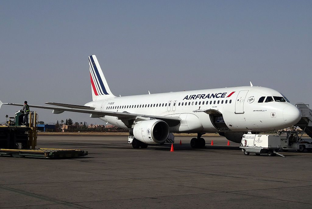 Air France F GKXK Airbus A320 200 at Bordeaux Airport