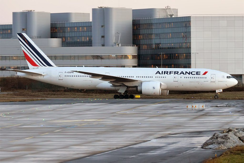 Air France F GSPK Boeing 777 228ER at Paris Charles de Gaulle Airport
