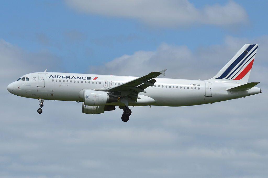 Airbus A320 200 Air France F GKXG at Toulouse Blagnac Airport