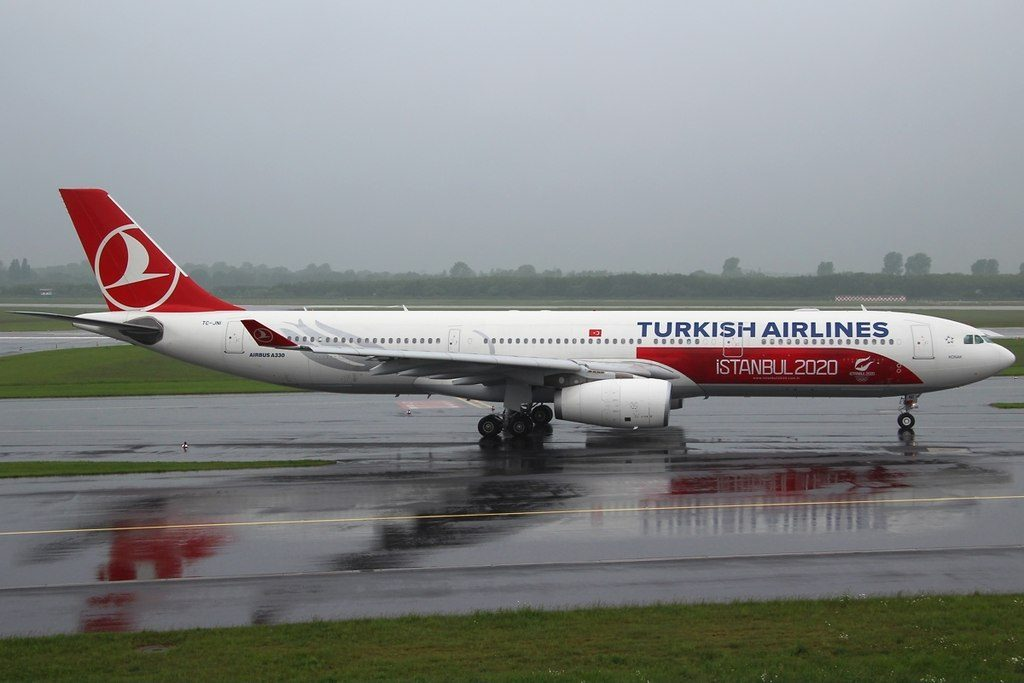 Airbus A330 343E Turkish Airlines TC JNI Konak Istanbul 2020 at Düsseldorf Airport