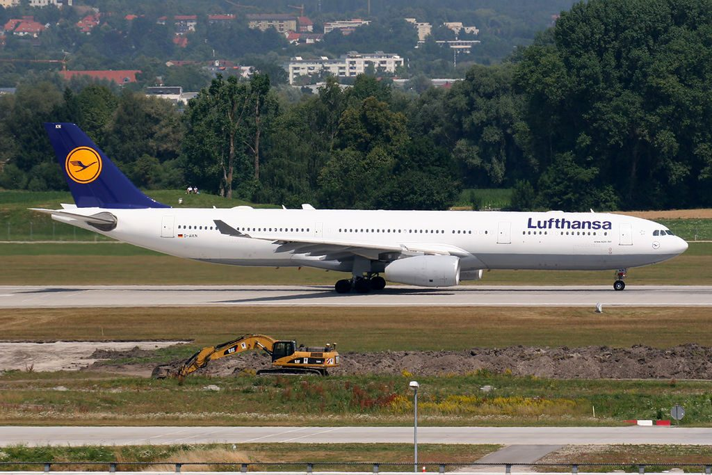 Airbus A330 343X Lufthansa D AIKN at Munich Airport
