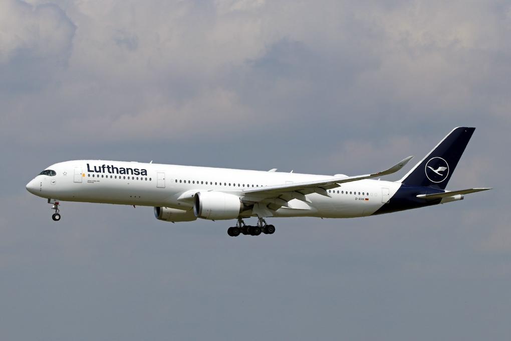 Airbus A350 941 Lufthansa D AIXH Magdeburg at Munich Airport