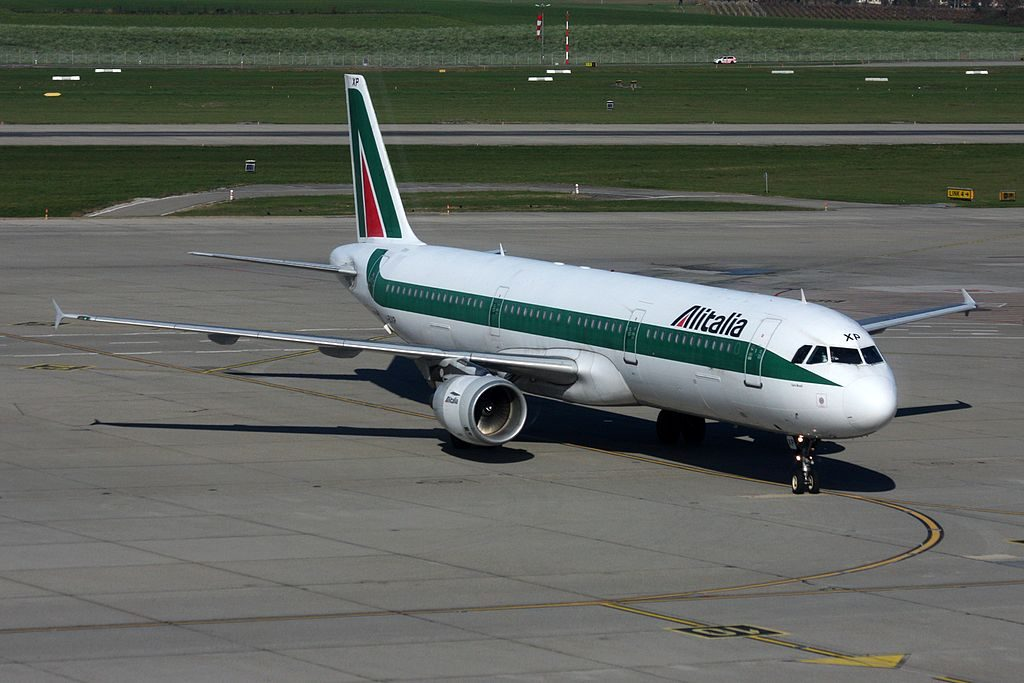 Alitalia Airbus A321 112 I BIXP Carlo Morelli at Geneva International Airport