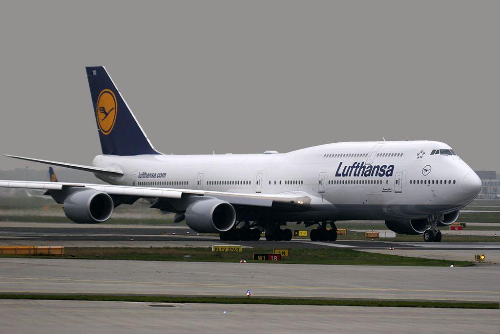 Boeing 747 830 Lufthansa D ABYK Rheinland Pfalz at Frankfurt Airport