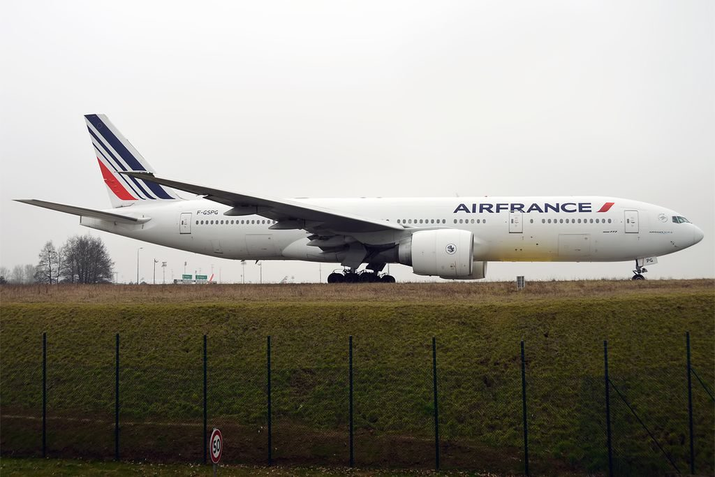 Boeing 777 228ER Air France F GSPG at Paris Charles de Gaulle Airport