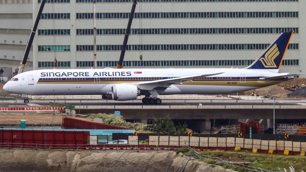 Boeing 787 10 Dreamliner 9V SCH Singapore Airlines Aircraft Fleet Photos