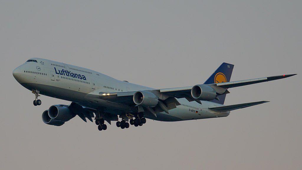 D ABYS Boeing 747 8 of Lufthansa Dresden at John F. Kennedy International Airport
