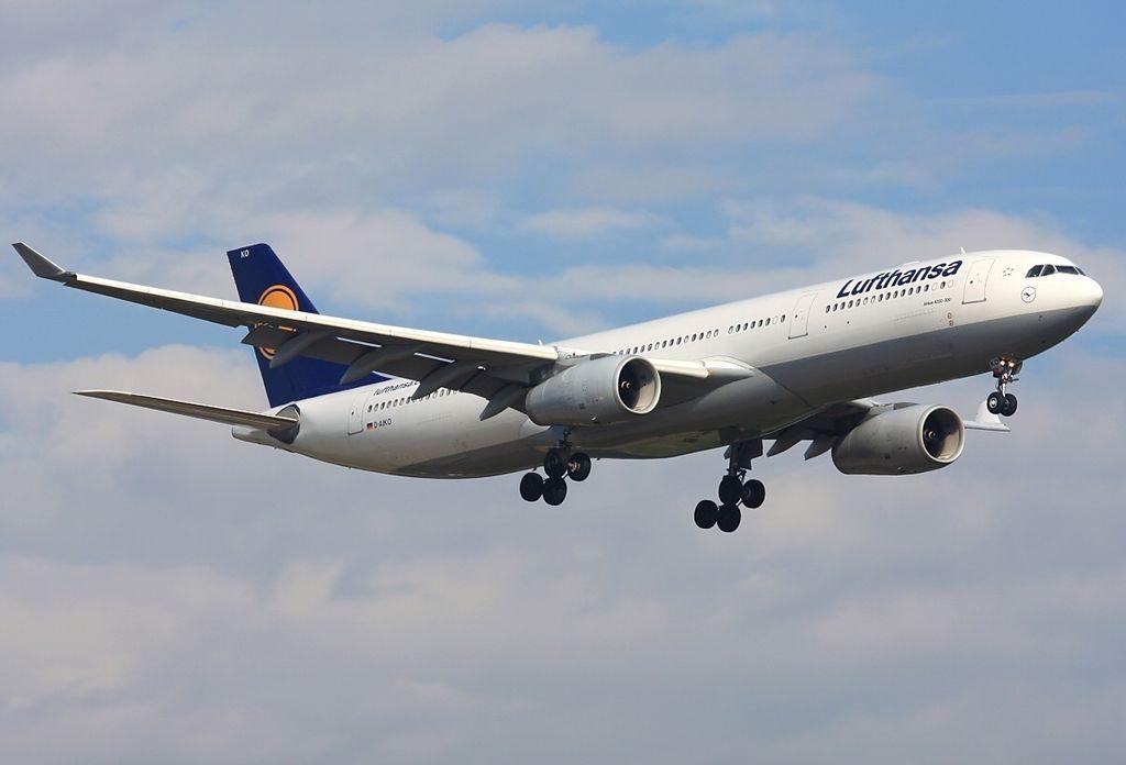 D AIKO Airbus A330 343X Koblenz Lufthansa at Munich Franz Josef Strauss