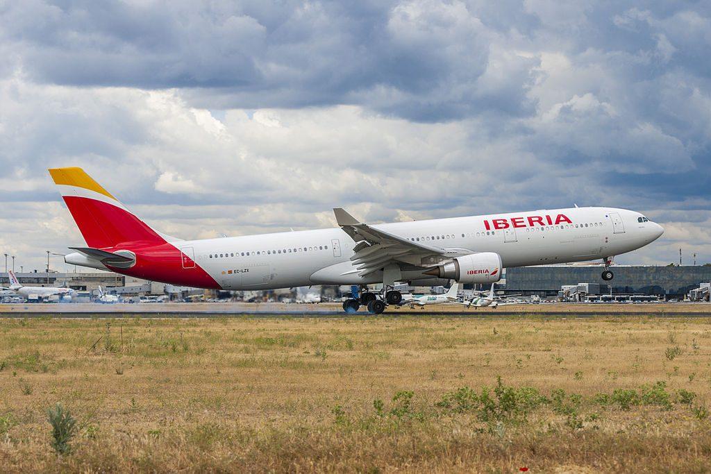 EC LZJ Airbus A330 300 Miami of Iberia at Madrid Barajas Airport