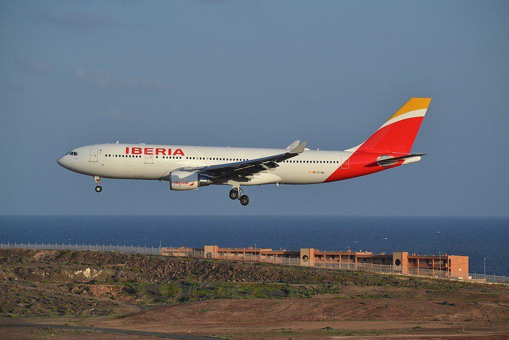 EC MIL Airbus A330 200 Oaxaca of Iberia at Gran Canaria Airport