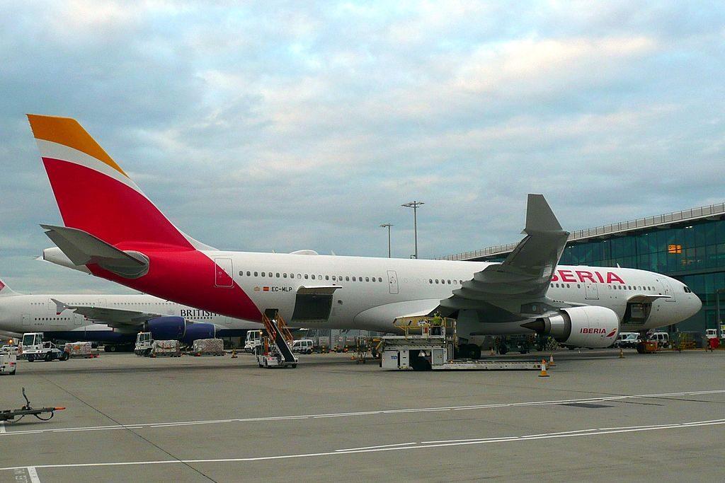 EC MLP Airbus A330 200 Lima of Iberia at London Heathrow Airport