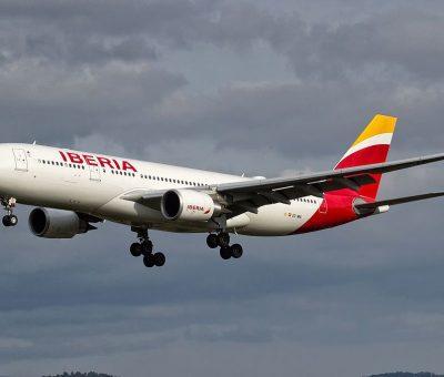 EC MNL Airbus A330 200 Tokio of Iberia at Vigo Airport