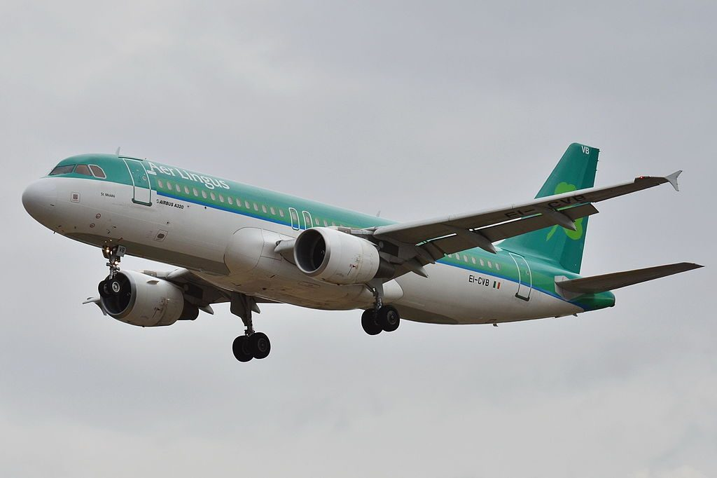 EI CVB Airbus A320 200 of Aer Lingus St Mobhi at Toulouse Blagnac International Airport