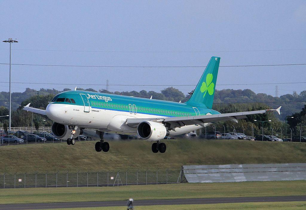 EI CVC Airbus A320 200 Aer Lingus St Kealin Caoilfhionn at Birmingham