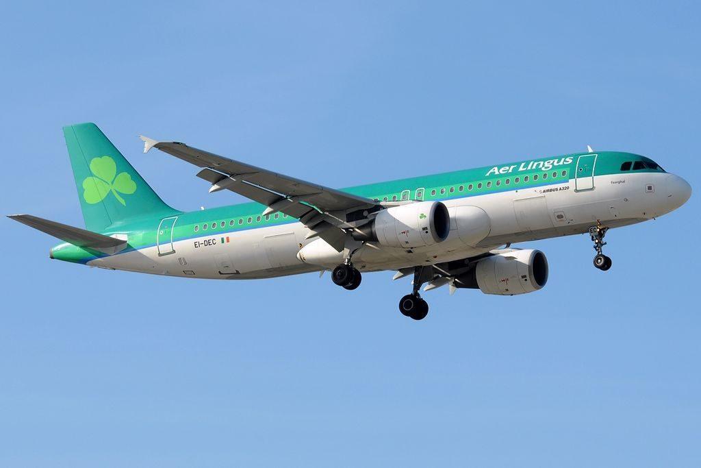 EI DEC Airbus A320 214 Aer Lingus St Fergal Fearghal at Málaga Airport