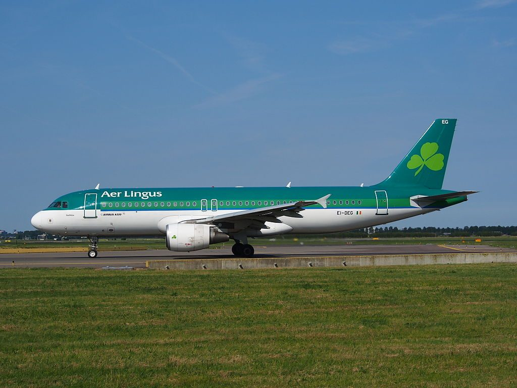 EI DEG Aer Lingus Airbus A320 214 St Fachtna at Amsterdam Airport Schiphol