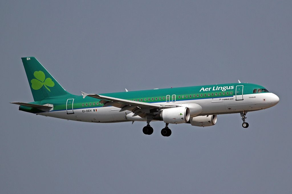 EI DEH A320 214 Aer Lingus St Conleth Connlaodh at the Palma de Mallorca Airport