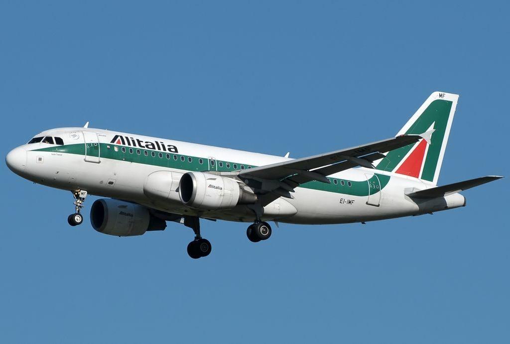 EI IMF Airbus A319 112 Alitalia Isole Tremiti at Roma Leonardo da Vinci Fiumicin