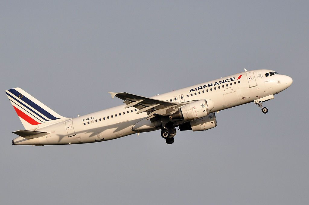 F GKXJ Airbus A320 200 of Air France at Paris Charles de Gaulle Airport