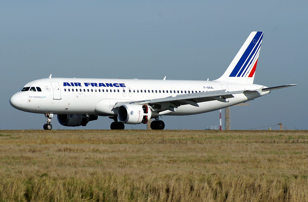 F GKXL Airbus A320 of Air France at Paris Charles de Gaulle Airport