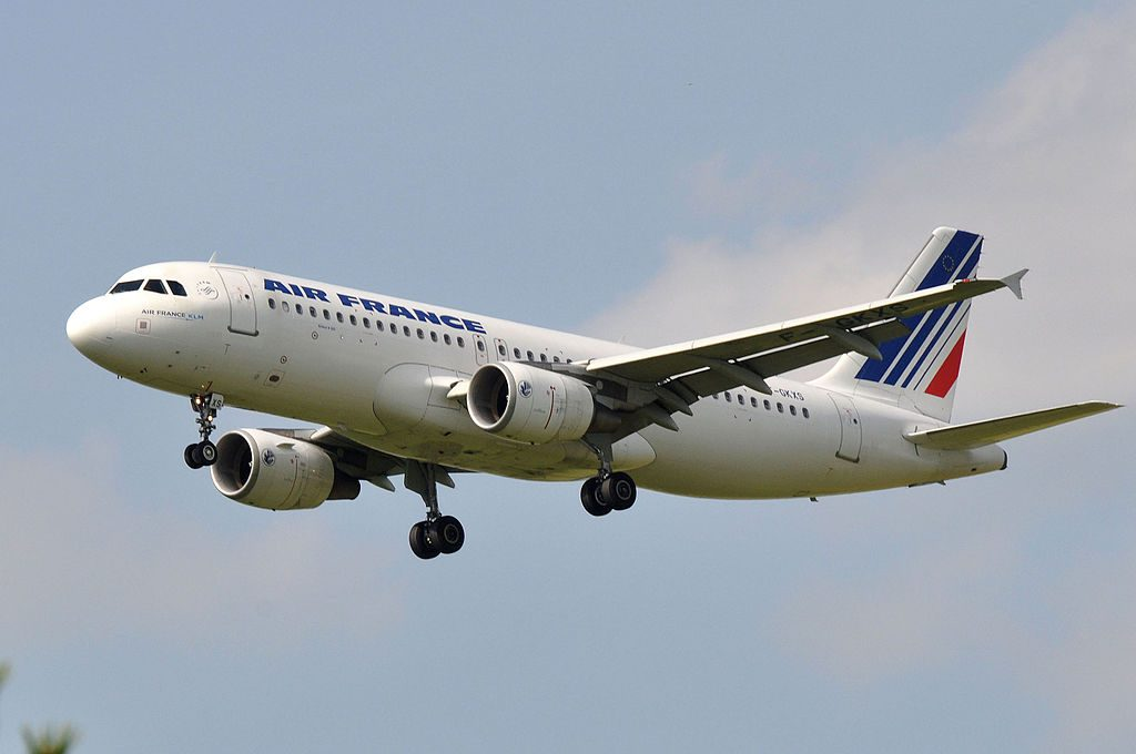 F GKXS Airbus A320 of Air France at Paris Charles de Gaulle Airport