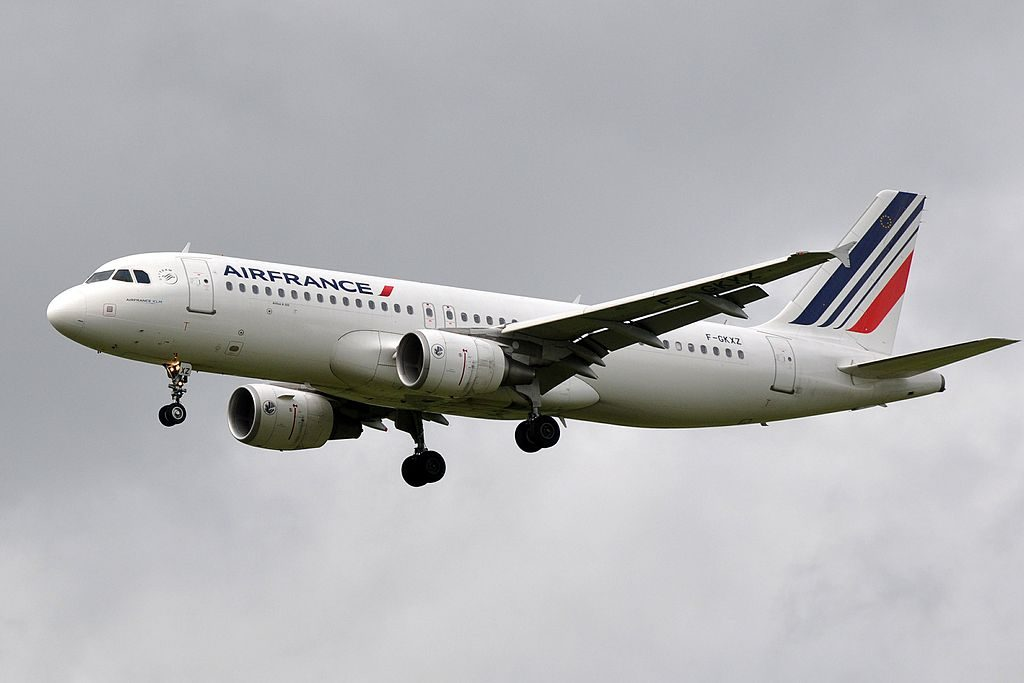 F GKXZ Airbus A320 of Air France at Paris Charles de Gaulle Airport