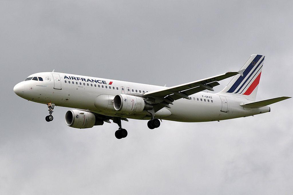 F GKXZ Airbus A320 of Air France at Paris Charles de Gaulle Airport
