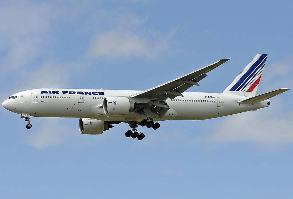 F GSPH Boeing 777 228ER Air France at Paris Charles de Gaulle Airport