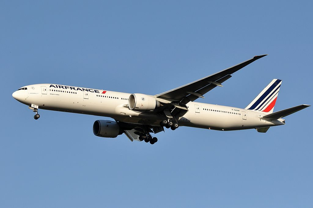F GSQF Boeing 777 300ER of Air France at Paris Charles de Gaulle Airport
