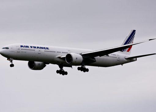 F GSQL Boeing 777 300ER of Air France at Narita International Airport