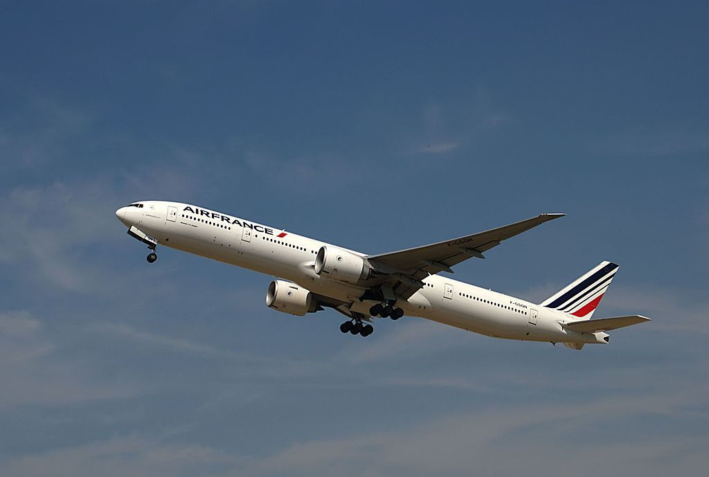 F GSQN Boeing 777 300ER of Air France at Paris Orly Airport