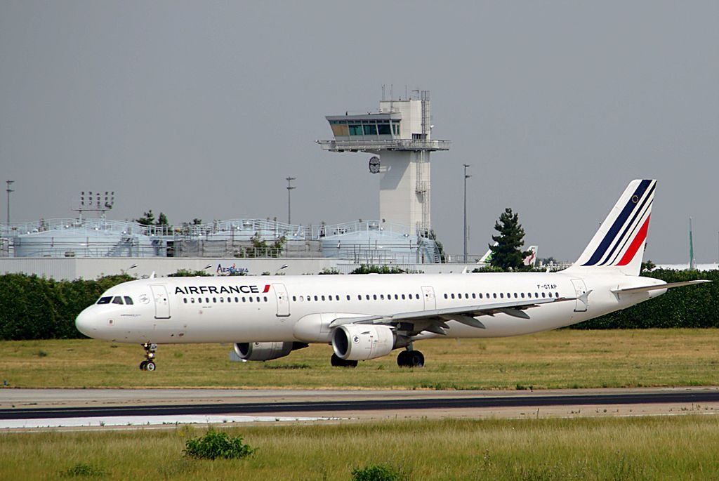 F GTAP Airbus A321 200 of Air France at Paris Orly Airport