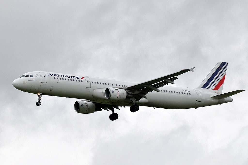 F GTAY Airbus A321 200 of Air France at Paris Charles de Gaulle Airport