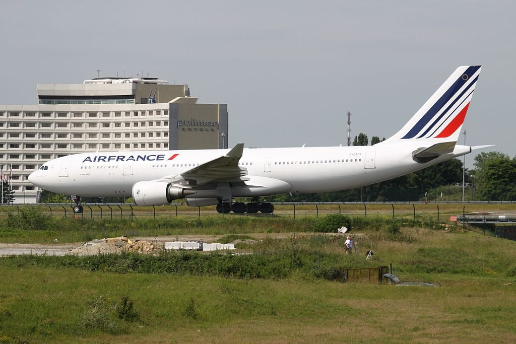 F GZCL Airbus A330 200 of Air France at Paris Charles de Gaulle Airport