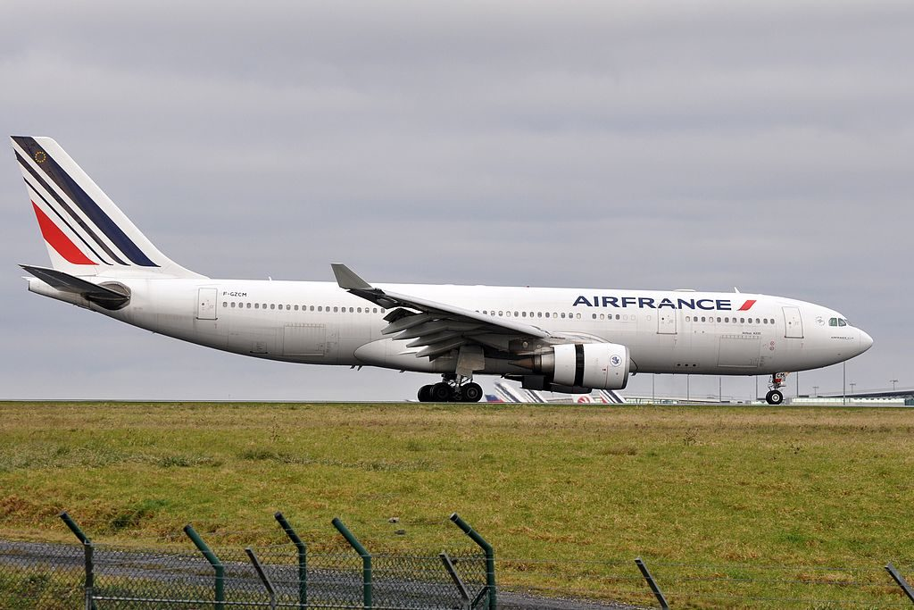 F GZCM Airbus A330 200 of Air France at Paris Charles de Gaulle Airport