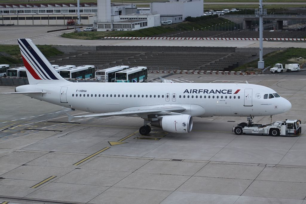 F HBNA Airbus A320 of Air France at Paris Orly Airport