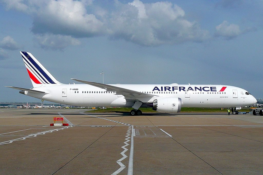 F HRBB Boeing 787 9 Dreamliner of Air France at London Heathrow Airport