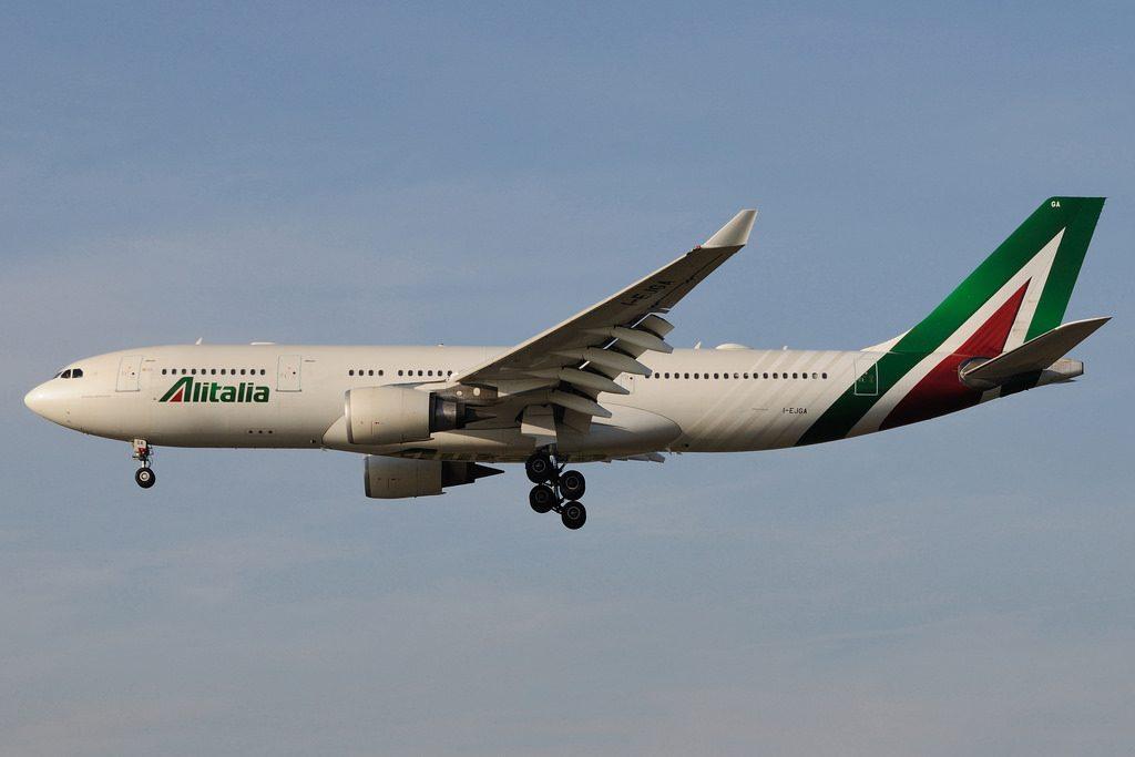 I EJGA Airbus A330 202 Alitalia Artemisia Gentileschi at Duesseldorf International Airport DUS