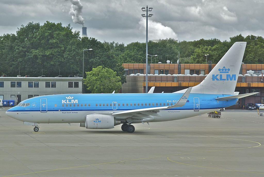 KLM Boeing 737 700 PH BGQ Paradijsvogel Bird of Paradise at Berlin Tegel Airport TXL