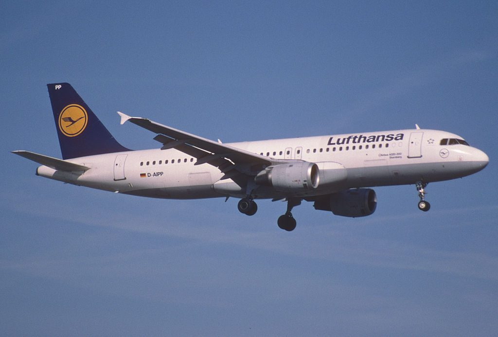 Lufthansa Airbus A320 211 D AIPP Starnberg at Zurich International Airport ZRH