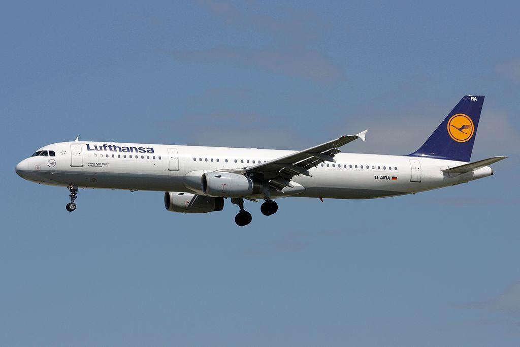Lufthansa Airbus A321 131 D AIRA Finkenwerder at Frankfurt Airport