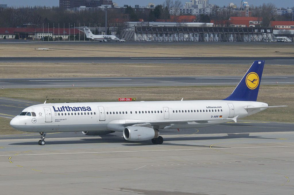 Lufthansa Airbus A321 131 D AIRF Kempten at Berlin Tegel Airport TXL