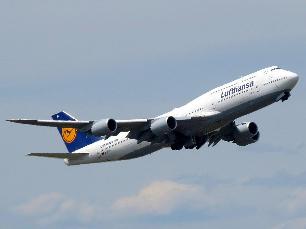 Lufthansa Boeing 747 830 D ABYF Sachsen Anhalt at Frankfurt Airport
