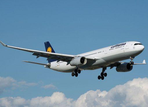 Lufthansa D AIKR Airbus A330 300 at Toronto Pearson International Airport