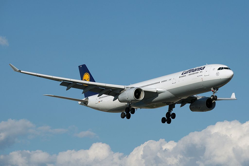 Lufthansa D AIKR Airbus A330 300 at Toronto Pearson International Airport