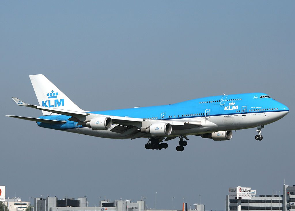 PH BFG Boeing 747 400 of KLM City of Guayaquil at Amsterdam Airport Schiphol