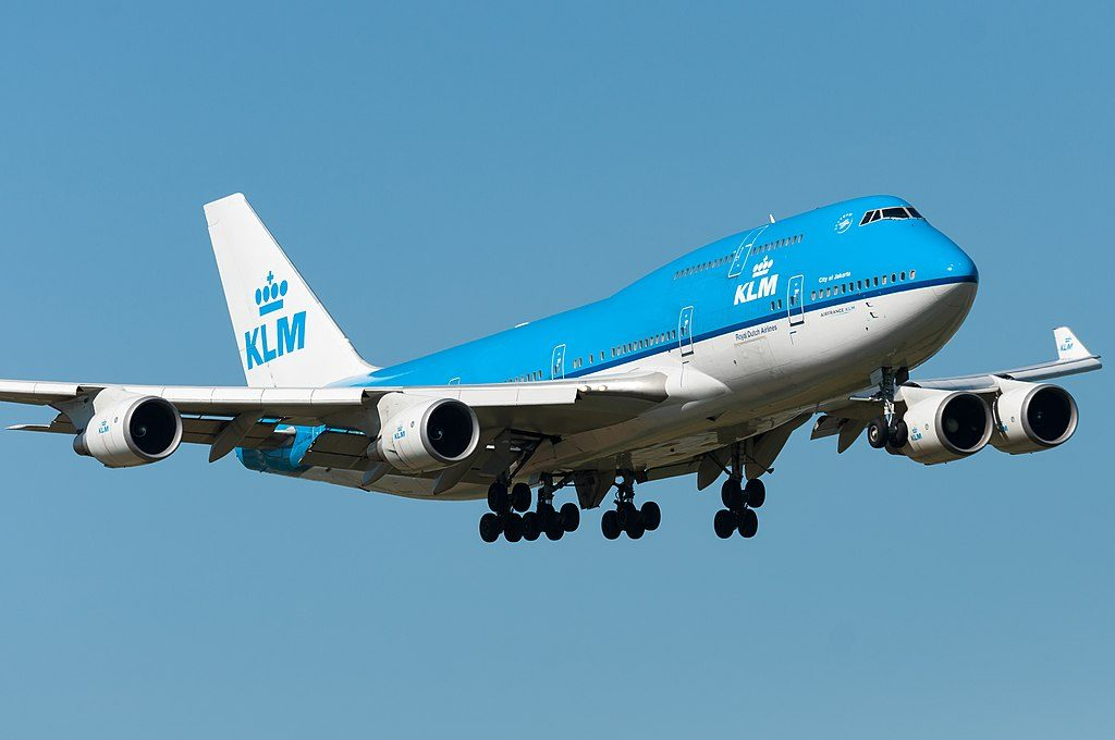 PH BFI Boeing 747 400M KLM City of Jakarta at Amsterdam Airport Schiphol