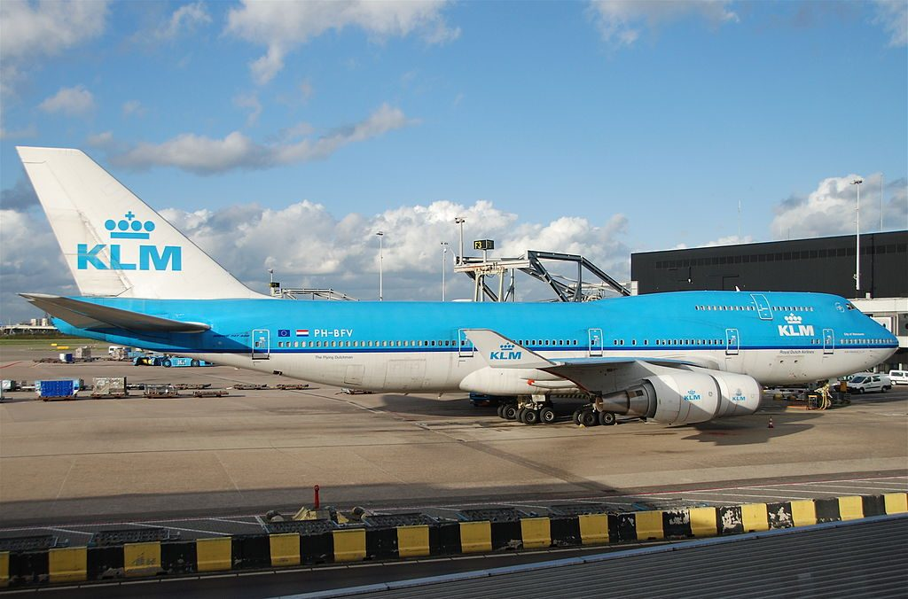 PH BFV Boeing 747 400M KLM City of Vancouver at Amsterdam Airport Schiphol