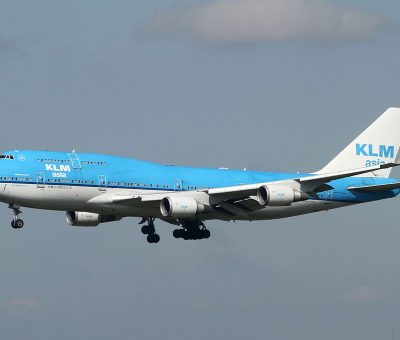 PH BFY KLM Royal Dutch Airlines Boeing 747 406M City of Johannesburg at Narita International Airport